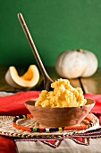 Pumpkin puree with cornmeal (Zulu cuisine, South Africa)