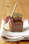Spice mixture in jar to give as a gift