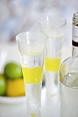 Vodka Lemon Burst (Vodka with lemon jelly)