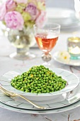 Peas with lemon zest (Easter)