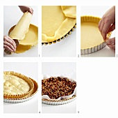 Baking a shortcrust pastry case blind