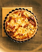 Onion and bacon mini-quiche