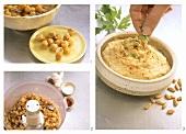Hummus (Kichererbsendip) zubereiten