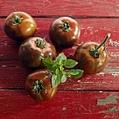 Brandywine (unusual tomato variety)