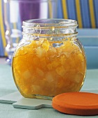 Pineapple and coconut jam