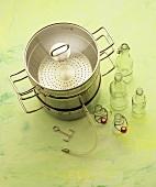 A steam juicer