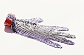 Steel mesh glove (for use by butchers etc.)