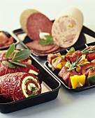 Tasty butcher's products
