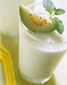 Guava lassi (yoghurt drink)