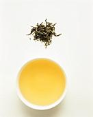 White green tea, slightly twisted leaf
