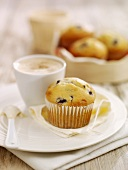 Fat-reduced blueberry muffin