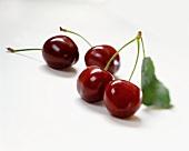 Four cherries