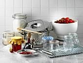 Kitchen utensils for jam-making
