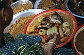 Theboudienne Rouge (Rice with fish & vegetables, Senegal)