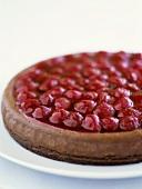 Chocolate and raspberry parfait