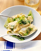 Nudelfleckerl (Pasta and cabbage dish)