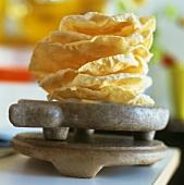 Poppadoms (Indian flatbread)