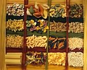 Various types of pasta (full-frame)