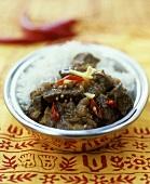 Beef Vindaloo (Ayurvedic cuisine)