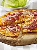 Pizza-Pfannkuchen