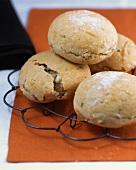 Spelt sprout bread rolls