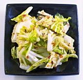 Kimchi (Chinese cabbage dish, Korean speciality)