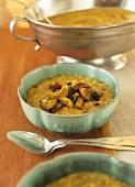 Potato and lentil soup