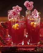 'Red Orchid' (Fruit cocktail, Asia)