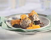 Poppy seed mousse