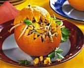 Orangen-Tofu-Ball