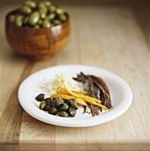 Ingredients for Mediterranean cuisine