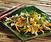 Pan-cooked Chinese cabbage dish