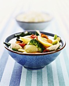 Vegetable stew with chicken