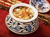 Kashmiri Biryani (rice with dried fruit, India)