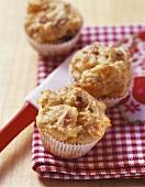 Mini-pretzel muffins