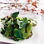 Asparagus salad with Vap ca