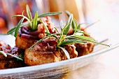 Pork medallions with rosemary