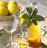 Limoncello (Lemon liqueur, Italy)