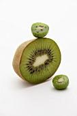 Halbe Kiwi und Mini-Kiwi