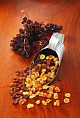 Currants, raisins and sultanas