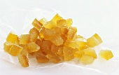 A heap of diced candied orange peel