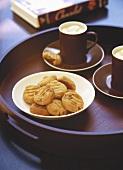 Macadamia and pecan biscuits