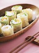 Vermicelli in rice paper