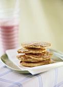 Small cinnamon pancakes