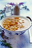 Chick-pea soup