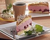 Cherry bee-sting cake