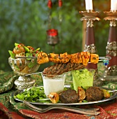 Middle Eastern barbecue