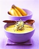 Spicy banana soup (Caribbean)