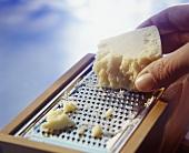 Grating Parmesan