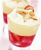 Trifle (Layered dessert with fruit)